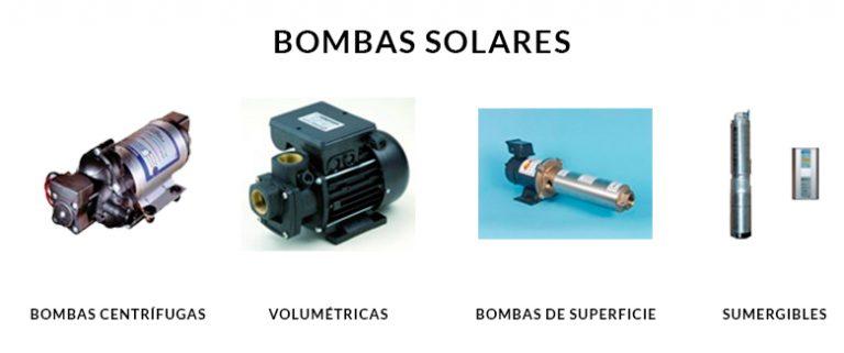 Tipos de Bombas solares para extracción de agua